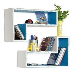 Triumph In The SkyGun-Shaped Wall Shelf / Bookshelf / Floating Shelf(Set of 2)