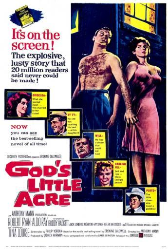 God's Little Acre Movie Poster Print (27 x 40) 39KUSDMQDDSLHPOO