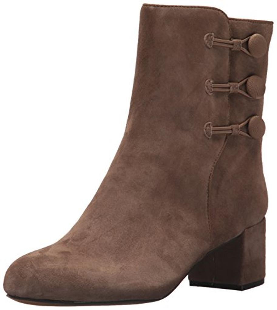 ADRIENNE VITTADINI Footwear Women's Loretta Ankle Boot, CANAPA, 9.5 M US