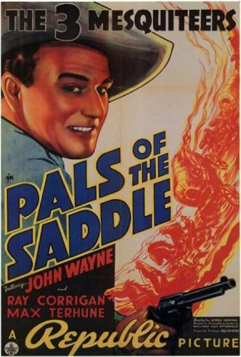Pals of the Saddle Movie Poster (11 x 17) AIWG07JHI7QKCHCY