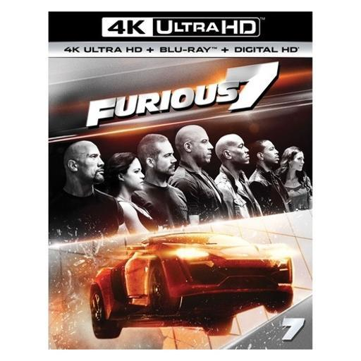 Furious 7 (blu ray/4kuhd/ultraviolet/digital hd 7XHG0EZDRDGASFVH