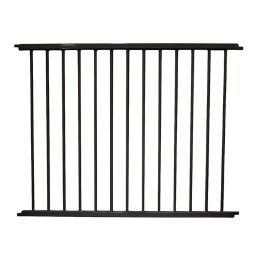 Cardinal Gates Vg40-Bk Black Cardinal Gates Versagate Hardware Mounted Pet Gate Extension Black 40 X 30.5