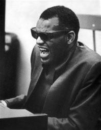 Ray Charles playing piano Photo Print GLP452005