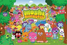 Moshi Monsters Landscape Poster Poster Print GBEFP2612
