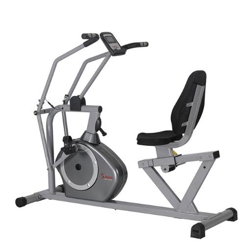 Sunny Health & Fitness SF-RB4708 Cross Training Magnetic Recumbent Bike