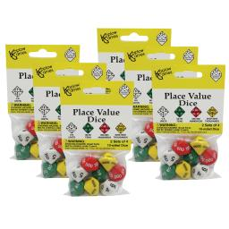 Koplow games (6 st) place value dice 11871-6