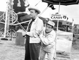 Dance With Me Henry From Left: Bud Abbott Lou Costello 1956 Photo Print EVCMBDDAWIEC051HLARGE