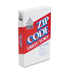 Zip Code Directory Paperback 750 Pages   Total Quantity: 1