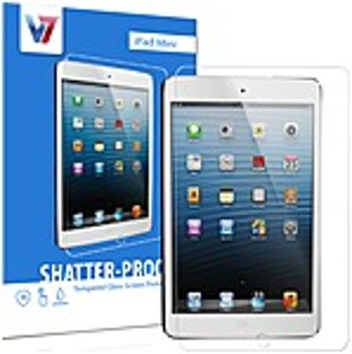 V7 Shatter-proof Tempered Glass Screen Protector - iPad mini AJFP4ZRGQ6XZEVXI