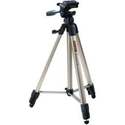 SUNPAK 620-080 PHOTO VIDEO TRIPOD with 3-WAY PANHEAD EXTENDED HEIGHT: 60.2  FOLDED HEIGHT: 20.8