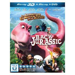 Back to the jurassic (blu ray) (2discs)                       nla BRME16004