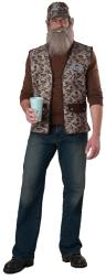Men's Duck Dynasty Uncle Si Costume IC101102