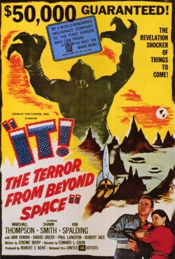 It! The Terror From Beyond Space Movie Poster Print (27 x 40) TPL9PCEUYLN6OJBU