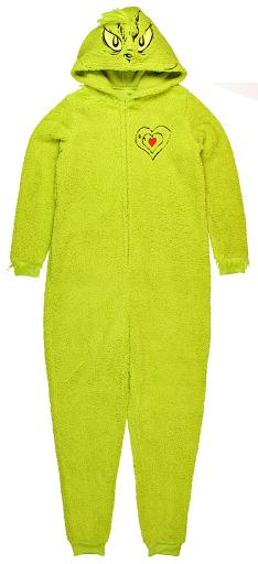 Dr Seuss How The Grinch Stole Christmas Costume Hooded Women S