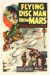 Flying Disc Man from Mars Movie Poster Print (27 x 40) MOVAB35014