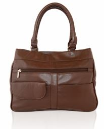 AFONiE Genuine Soft Leather Shoulder Handbag