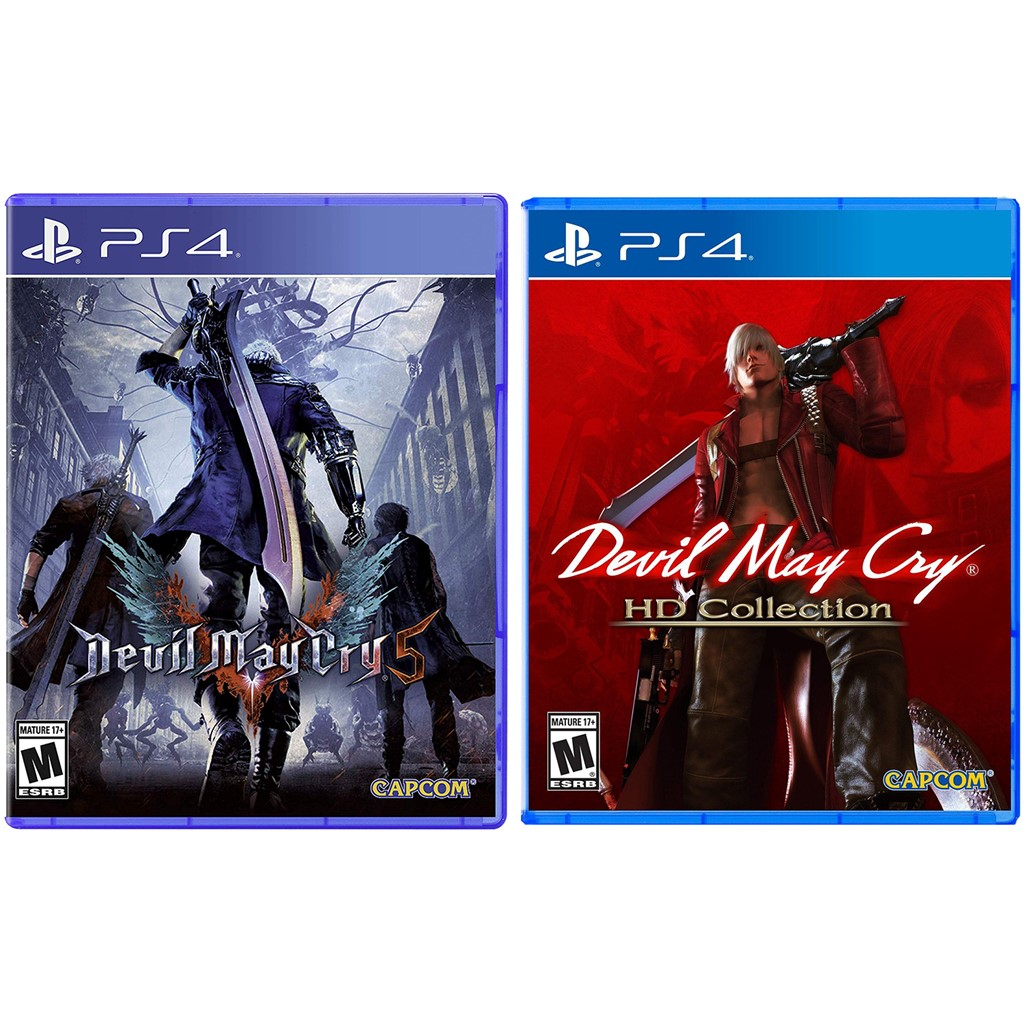 Devil May Cry 5 and Devil May Cry HD Collection Bundle - Playstation 4