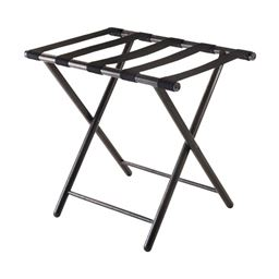 Winsome Wood Tavin Luggage Rack - Folding Straight Leg, Antique Bronze