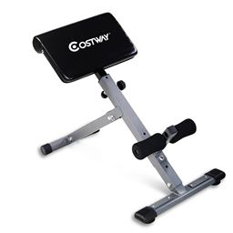 Adjustable Hyperextension Abdominal Exercise Back Bench