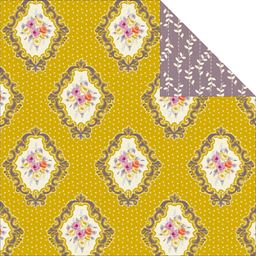 Kaiser Craft Flora Delight Collection Double Sided Paper Vintage