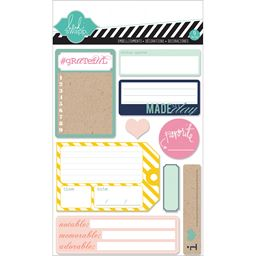 American Craft Hello Today Adhesive Back Paper Stacks 9 Journal Spot Designs