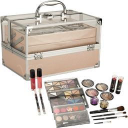 Ver Beauty Del Leone 24-Piece Makeup Set with Storage Case
