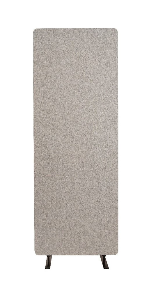 Luxor Reclaim Acoustic Room Dividers Single Panel - Misty Gray