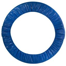 """44"""" Mini Round Foldable Replacement Trampoline Safety Pad (Spring Cover) for 6 Legs - Blue"""