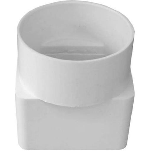 Genova 45233/s Styrene Downspout Adapter, 2