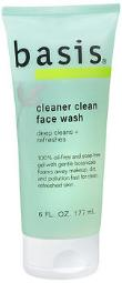 Basis Cleaner Clean Face Wash - 6 Oz, Pack Of 4