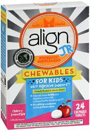 align-jr-probiotic-supplement-chewable-tablets-cherry-smoothie-24-ct-pack-of-4-534be54755bd91fd
