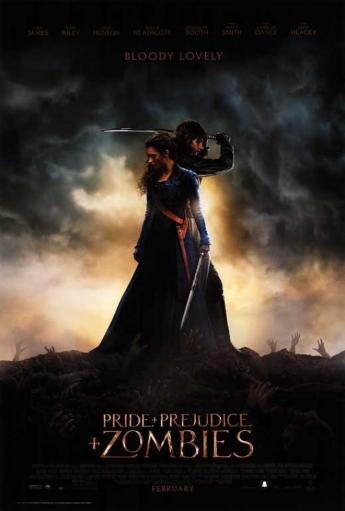 Pride and Prejudice and Zombies Movie Poster (27 x 40) BMWPNMWHBA4S0YDM