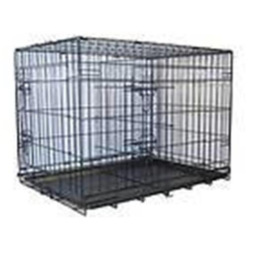 Go Pet Club MLD-48 48 in. Metal Dog Crate with Divider 9CC75B9F48E100B1