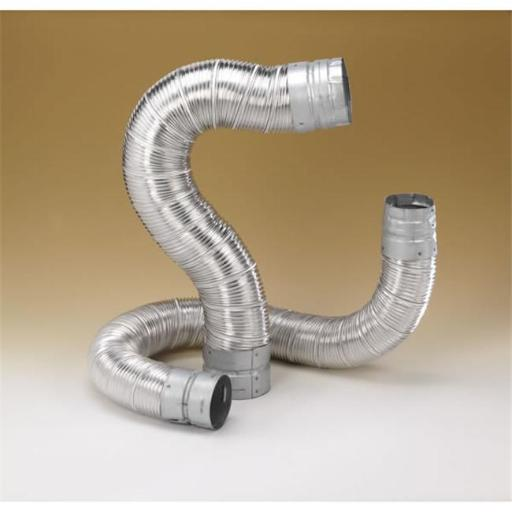 M & G Duravent 6DV48 6 Inch x 48' Dura-Connect Gas Connector Pipe .012 Inch Bendable Aluminum Pipe