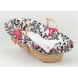 Cotton Tale TYMB Girly Moses Basket