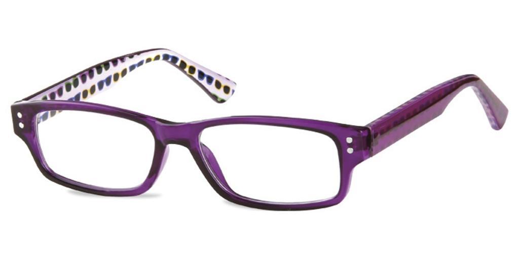 Full Rim Square Purple SmartBuy Kids Alec PK9C Fashion Kids Eyeglasses