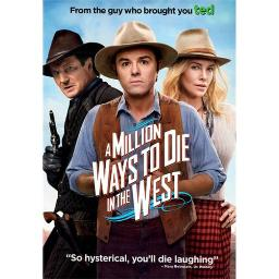 MILLION WAYS TO DIE IN THE WEST  (DVD) 25192212772