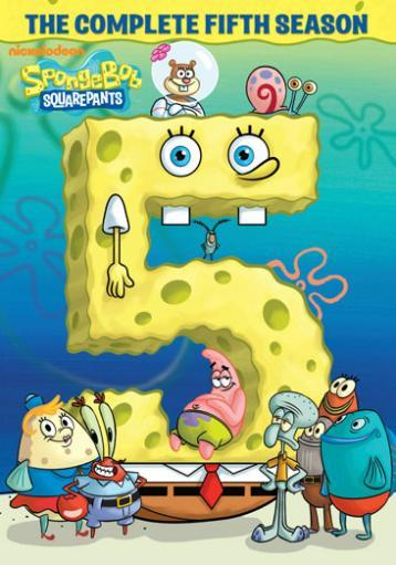 Spongebob squarepants-complete 5th season (dvd/4discs)