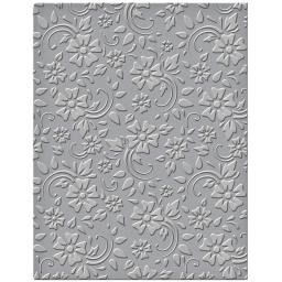 Spellbinders Embossing Folder Small-Flowers & Leaves SES008