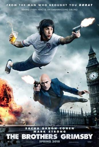 The Brothers Grimsby Movie Poster (11 x 17) OILWVH13FYMPQATR