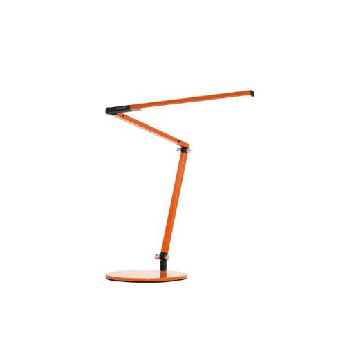 Koncept AR3100-WD-ORG-DSK Z-Bar Warm Light Mini LED Desk Lamp with Base, Orange