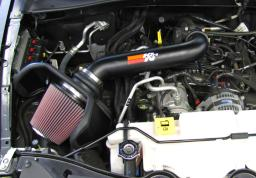 K&N 10-11 Jeep Liberty 3.7L V6 High Flow Performance Intake Kit 77-1562KTK