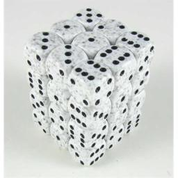 Chessex Manufacturing 25911 Arctic Camo Speckled - 6 Sided 12 mm Dice Set Of 36