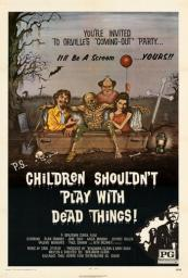 Children Shouldn't Play With Dead Things Movie Poster (11 x 17) MOV405380