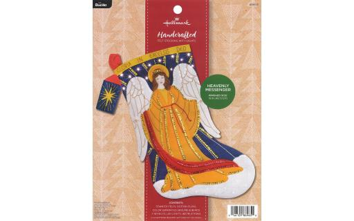 BUCILLA BUC86937 FELT KIT SNOW PRINCESS STOCKING