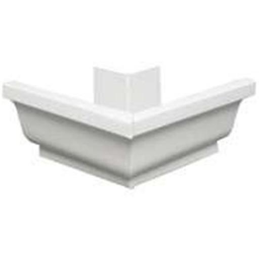 27202 Aluminum Gutter Outside Mitre White - 5 In.