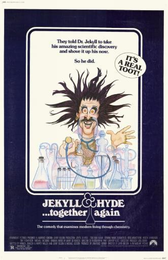 Jekyll & Hyde. . .Together Again Movie Poster (11 x 17) OX2UWNMENHHO7O4T