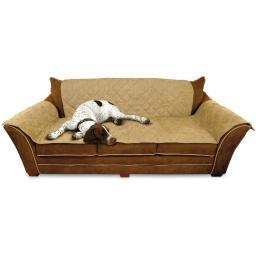 K&H Pet Products 7820 Tan K&H Pet Products Furniture Cover Couch Tan 26 X 70 Seat, 42 X 88 Back, 22 X 26 Side Ar