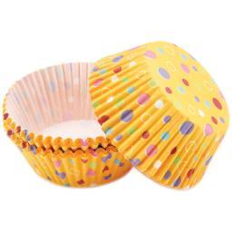 Standard Baking Cups-Sweet Dots 75/Pkg W4151052