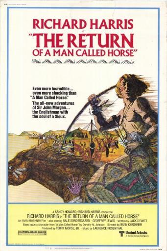 The Return of a Man Called Horse Movie Poster Print (27 x 40) RE0DTBJYLRIXARFD